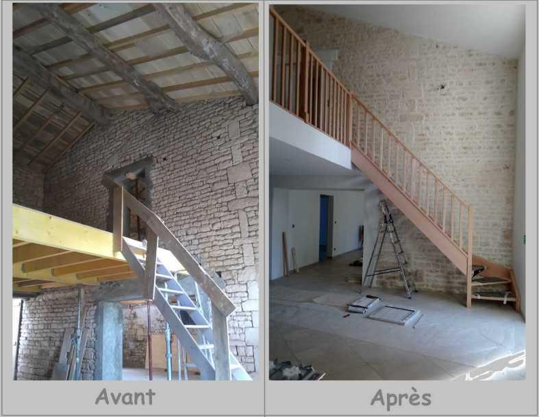 rénovation et aménagement interieur