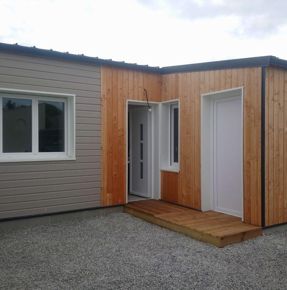 Réalisation d'une maison en ossature bois complète