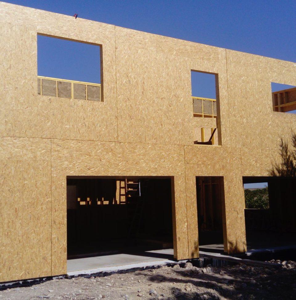 Construction maison bois à étage