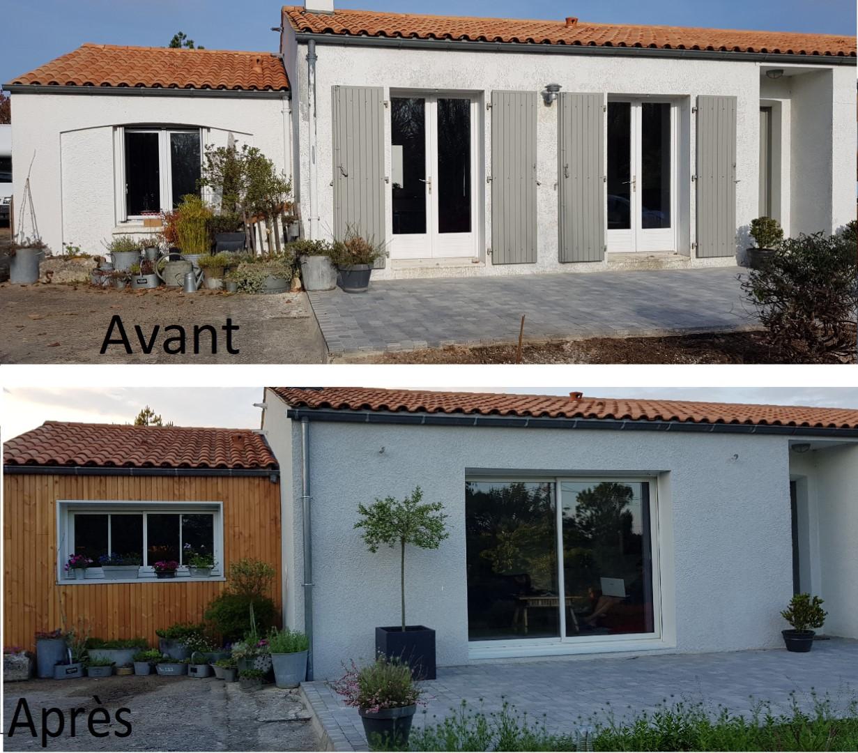 Rénovation maison exterieur sainte-soule