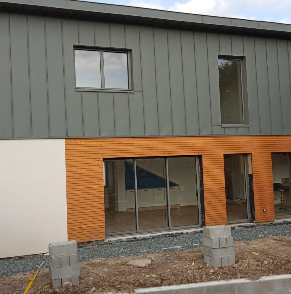 Maison ossature bois d'une surface de 149 m2